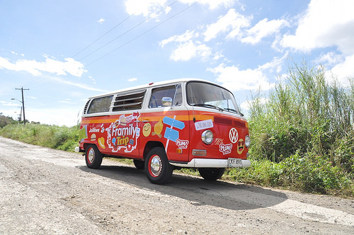 Our VW Kombi in a Jollibee Ad
